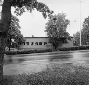 Arkivhuset på Nybrogatan 17 i Härnösand